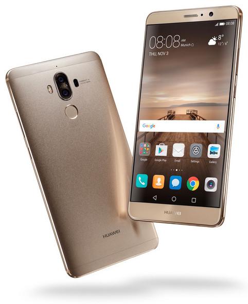 Ergonomie du Huawei MHA-l09